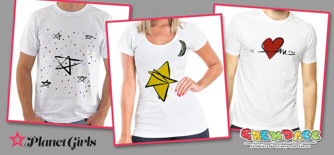 Layout Camisetas para site